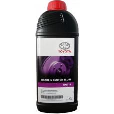 Тормозная жидкость dot 4 Toyota Brake & Clutch Fluid 1 л