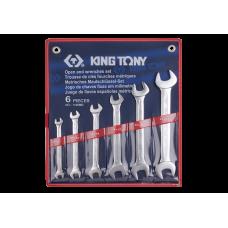 Набор ключей рожковых 6 шт (8-19)
