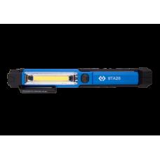 Фонарик 1.5W COB +1 LED