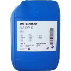 Моторное масло Aral BlueTronic 10W-40 20 л