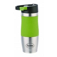 Термокружка Con Brio CB-348 зеленая 380мл