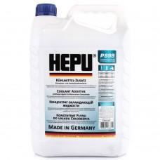 Антифриз Hepu G11 синий концентрат 5 л