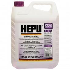 Антифриз Hepu G12 plus фиолетовый концентрат 5 л