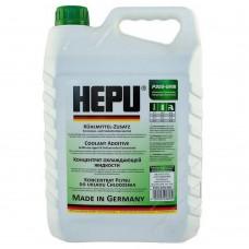Антифриз Hepu G11 зеленый концентрат 5 л