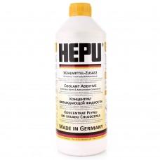 Антифриз Hepu G11 желтый концентрат 1,5 л