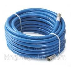 """Шланг PVC 13Х19мм, с резьбовыми соединениями внутр. 1/2"""" 20 м."""