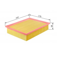 Фильтр воздушный Bosch 1457433004