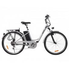 Электрический велосипед Maxxter CITY (silver)