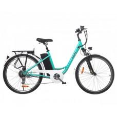 Электрический велосипед Maxxter CITY (light blue)