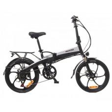 Электрический велосипед Maxxter RUFFER (black-silver)