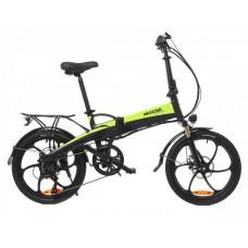 Электрический велосипед Maxxter RUFFER (black-green)