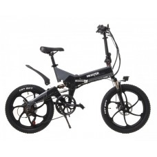 Электрический велосипед Maxxter RUFFER MAX (black-gray)