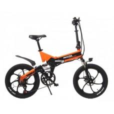 Электрический велосипед Maxxter RUFFER MAX (black-orange)