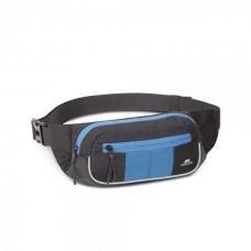 RIVACASE 5215 черно-синяя сумка на пояс