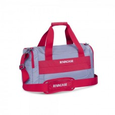 RIVACASE 5265 серо-красная дорожная сумка 30 литров
