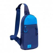 RIVACASE 5312 синяя сумка-слинг для мобильных устройств