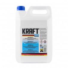 Антифриз KRAFT G11 Blue -35 для системы охлаждения 5 л