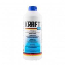 Антифриз KRAFT G11 Blue -35°C для системы охлаждения 1,5 л