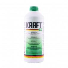 Антифриз KRAFT G11 Green -35°C для системы охлаждения 1,5 л