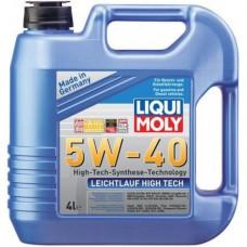 Моторное масло Liqui Moly Leichtlauf High Tech 5W-40 4 л