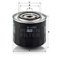 Масляный фильтр MANN W 1126