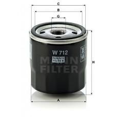 Масляный фильтр MANN W 712