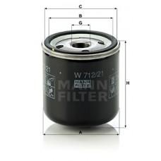 Масляный фильтр MANN W 712/21