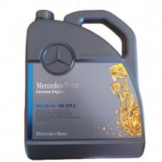 Моторное масло Mercedes Benz Genuine Engine Oil MB 229.3 5W40 5 л