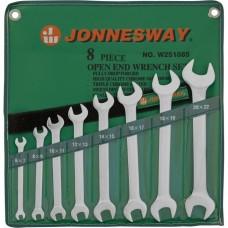 Набор ключей рожковых Jonnesway 6-22мм, 8 предметов