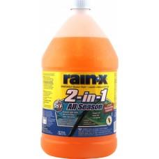 Омыватель для стекол RAIN-X 2-в-1 всесезонный (-32 С/-25 F) 3,78л (5066517)