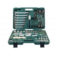 Универсальный набор инструментов Jonnesway 77 предметов (S04H52477S)