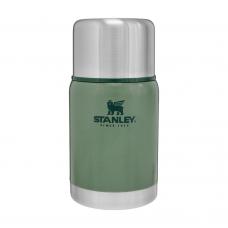 Stanley термос пищевой Adventure Hammertone Green 0.7л (6939236348034)