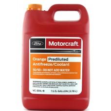 Готовый антифриз Ford Motorcraft Orange Prediluted Antifreeze Coolant 3,78 л