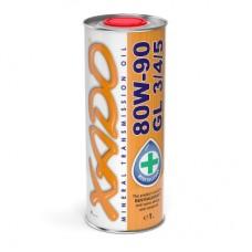Трансмиссионное масло XADO 80W-90 GL 3/4/5 1 л