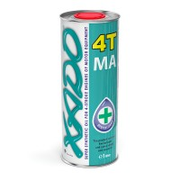 Моторное масло Xado Atomic Oil 10W-40 4T MA Super Synthetic 1 л