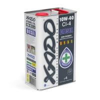 Моторное масло XADO Atomic Oil 10W-40 CI-4 Diesel 4 л