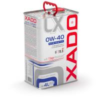 Моторное масло XADO Luxury Drive 0W-40 4 л