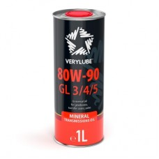 Трансмиссионное масло Verylube 80W-90 GL 3/4/5 1 л