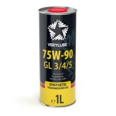 Трансмиссионное масло Verylube 75W-90 GL 3/4/5 1 л
